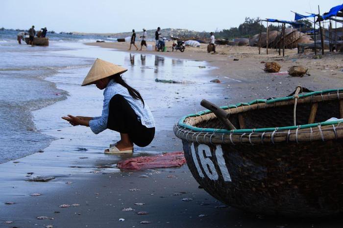 Vissersboot Vietnam
