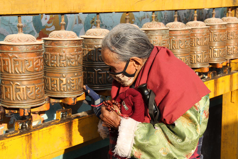 Gebedsmolens Nepal